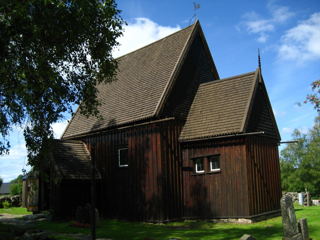 Hedared Stabkirche, Schweden